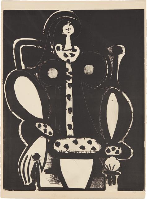 Pablo Picasso, 'Femme au fauteuil (d'après le noir) (The Armchair Woman, from the black)', 1948, Phillips