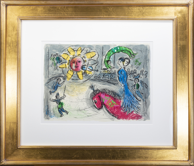 Marc Chagall, 'Soleil au Cheval Rouge (Sun with Red Horse), M 945', 1979, David Barnett Gallery