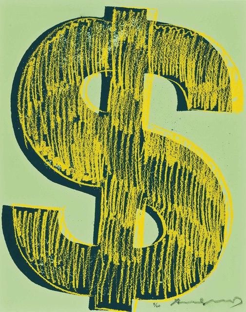 Andy Warhol, '$ (1)', 1982, Christie's