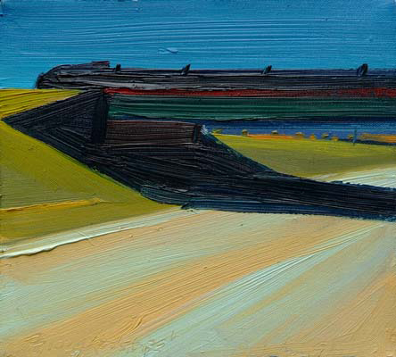 Richard Sheehan, 'Route 102, Red Stripes', 1991, Alpha Gallery