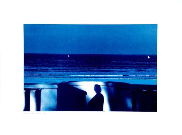 Franco Fontana, ' Attendance Blue Sea', 1981, Wallector