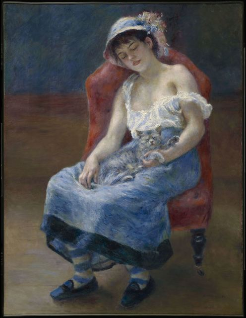 , 'Sleeping Girl,' 1880, The National Gallery, London