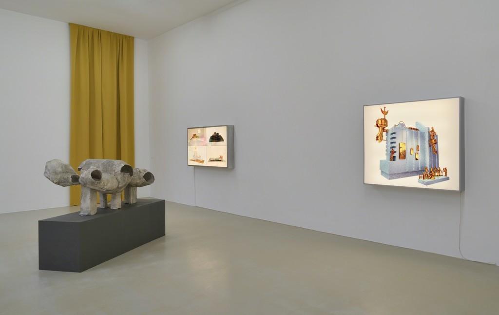 Manuel Graf »GodboX«, 2019 Installation view Kunstverein Hannover Photo: Raimund Zakowski Courtesy the artist & VAN HORN, Düsseldorf
