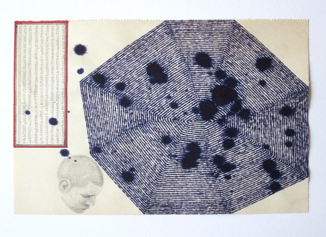 , 'Dibujo 12 (detail),' 2012, Casas Riegner