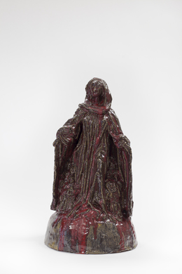 , 'Madonna of protective cloak from Ravensburg (after Michel Erhart or Fredrich Schramm),' 2014, Simon Lee Gallery