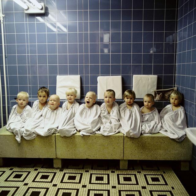 , 'Im Ruheraum nach der Sauna,' 1988, CAMERA WORK