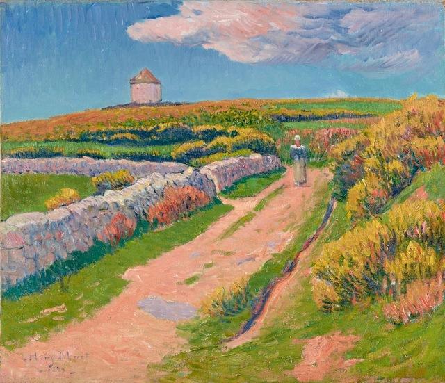 , 'Le Chemin Rose,' 1894, Stoppenbach & Delestre