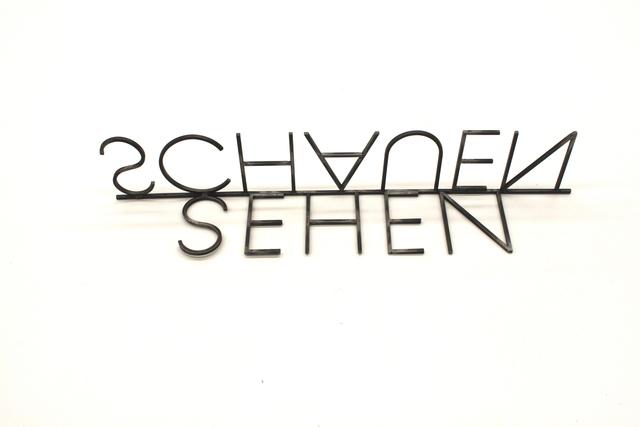 , 'Sehen Schauen,' 2017, Galleria Doris Ghetta