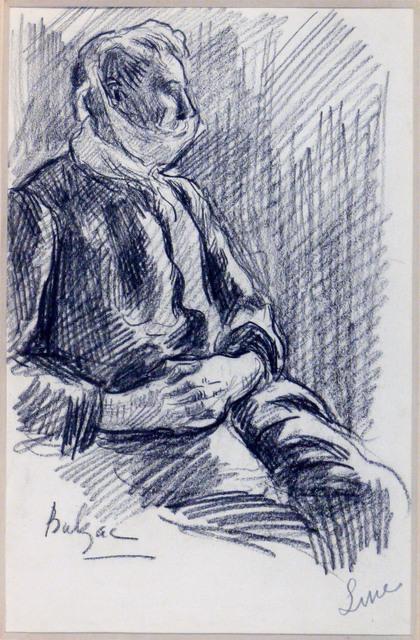 , 'Portrait d'Henri-Edmond Cross la tête bandée,' 1907, SERGE PLANTUREUX