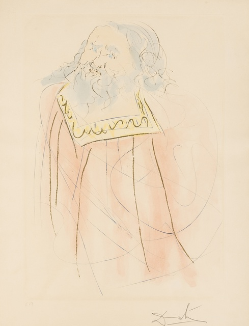 Salvador Dalí, 'Jeremiah (from Our Historical Heritage) (M & L 7521; Field 75-4-K)', 1975, Forum Auctions