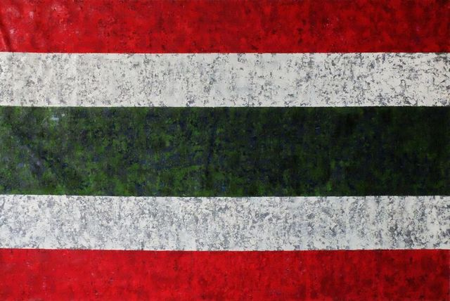 , 'untitled 2 (siam republic flag),' 2015, Sundaram Tagore Gallery