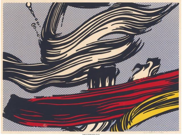 Roy Lichtenstein, 'Brushstrokes', 1967, Print, Screenprint in colors, Heritage Auctions
