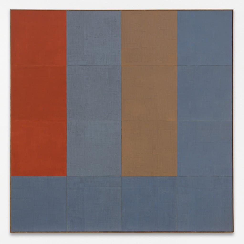 Ohne Titel, 2000, acrylic paint on canvas, 170 x 170 cm