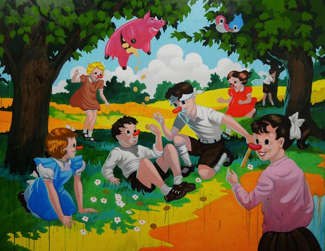 , 'La Piñata,' 2016, Isabel Croxatto Galería
