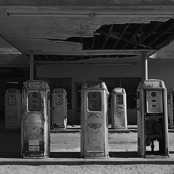, 'Desert Center Gas Pumps,' , Modernist Frontier