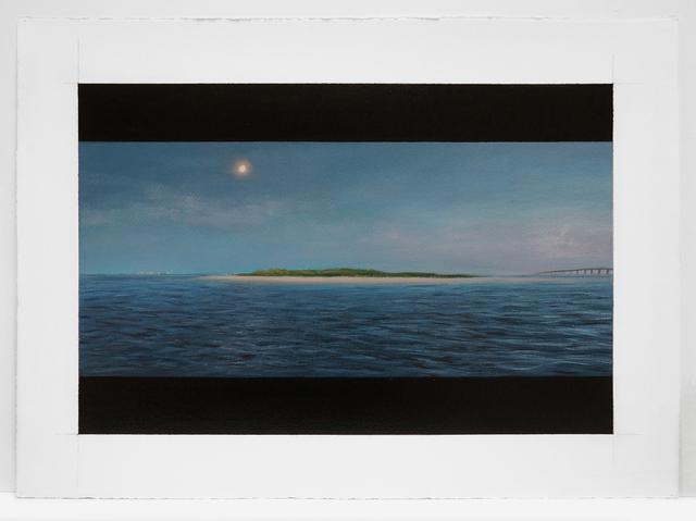 , 'Expanse: Moonrise Warren Island,' 2015, Nohra Haime Gallery