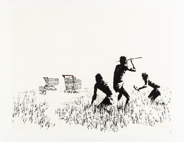 Banksy, 'Trolleys', 2007, Forum Auctions