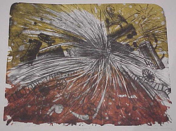 Maximino Javier, 'CHOQUE DE CARGUEROS ', 1996, Galería Quetzalli