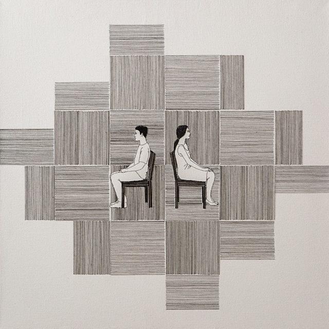 , 'Série Ente Linhas / Series Between Lines,' 2014, Gabinete de Arte k2o