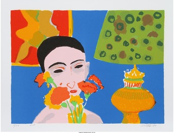 John Grillo, 'Woman with Flowers,' 1980, Heritage Auctions: Valentine's Day Prints & Multiples