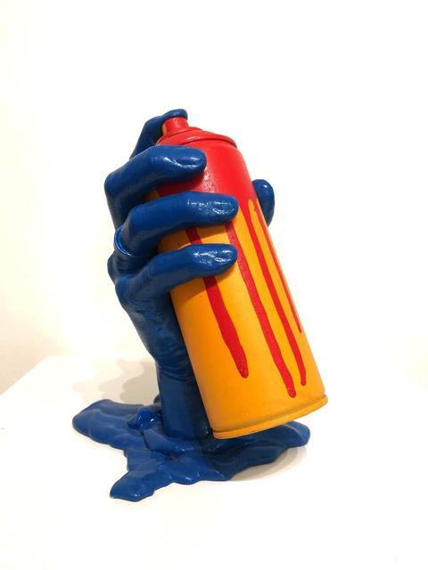 Pimax, 'Blue Hand Spraycan', NextStreet Gallery
