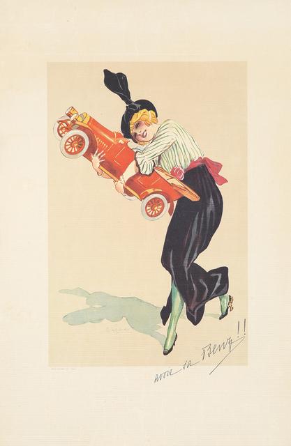 , 'Avoir sa Benz.,' ca. 1920, Rennert's Gallery