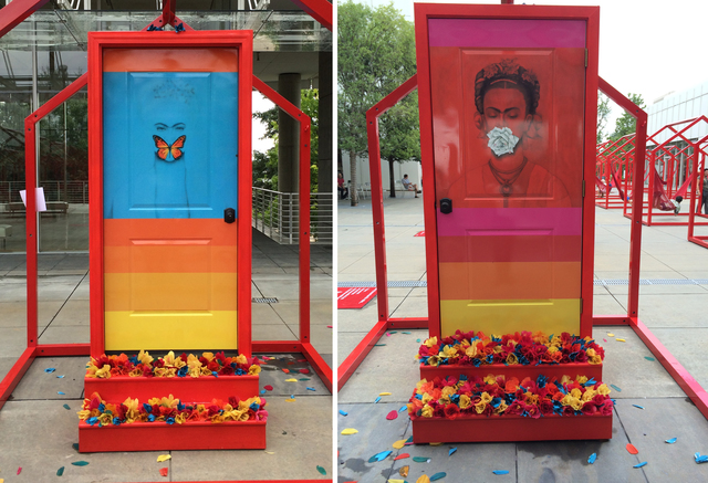 , 'Flowers Door (Tribute to Frida Kahlo) ,' 2014, Studio 905 on Juniper