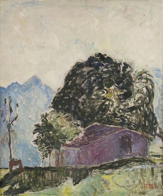 Arturo Tosi, 'La baita', 1925, Painting, Oil on canvas, Finarte