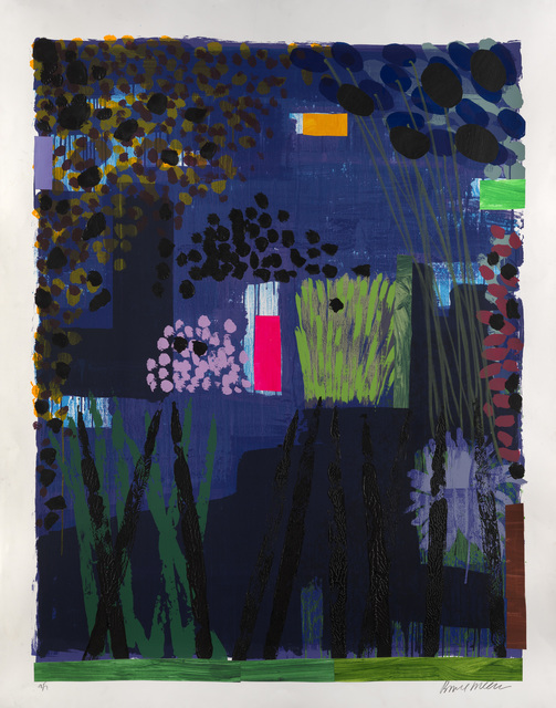 , 'Garden Blue 3,' 2012, Jill George Gallery