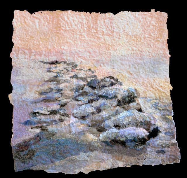 , 'Frozen Rocks,' , West Branch Gallery
