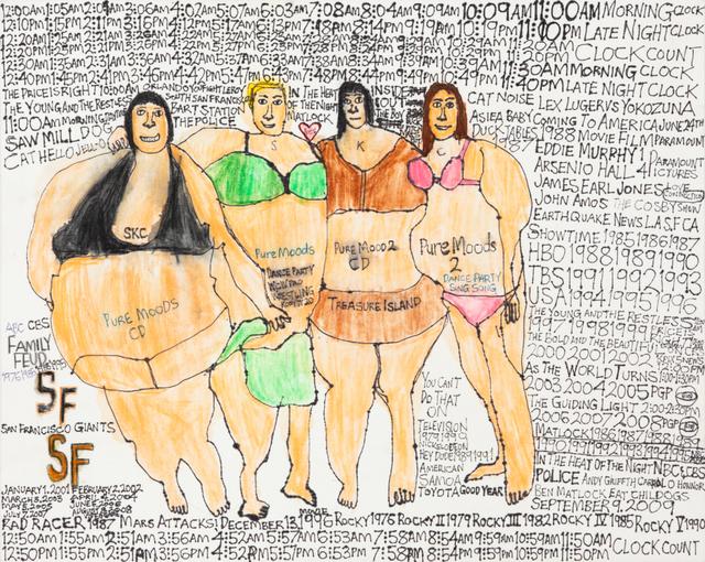 , 'Pure Moods, Treasure Island,' 2012, Creativity Explored