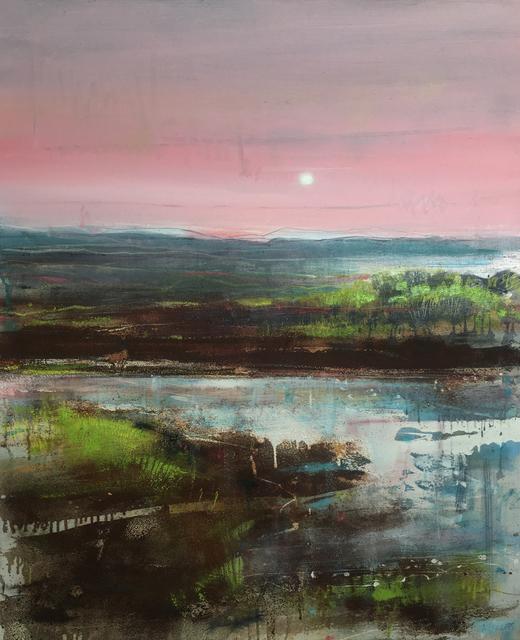 , 'Moorland Pool, Evening,' 2017, Sladers Yard