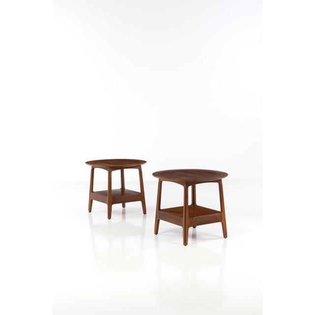 Edward J. Wormley, 'Pair Of Side Tables', 1960, PIASA