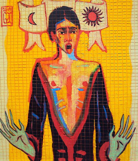 Gonzalo Ilabaca, 'Mosaico medieval de Valparaíso', 2019, Kunst.cl