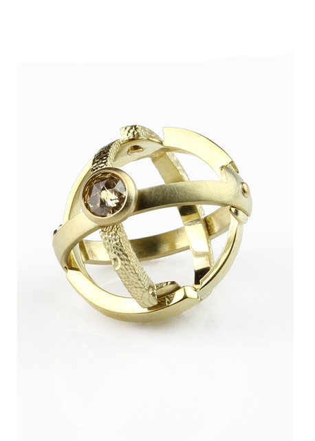, 'Lunar Armillary Ring,' 2017, Facèré Jewelry Art Gallery