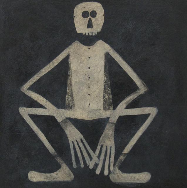 , 'Skeleton Man,' 2016, ClampArt