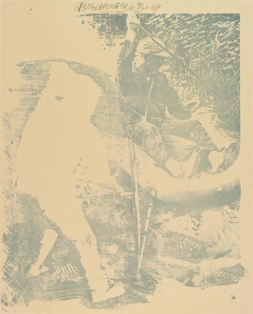 Robert Rauschenberg, 'Tilt (Stoned Moon),' 1969, San Francisco Museum of Modern Art (SFMOMA)