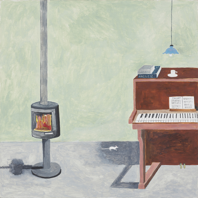 , 'Mouse beside Piano,' 2016, mother's tankstation