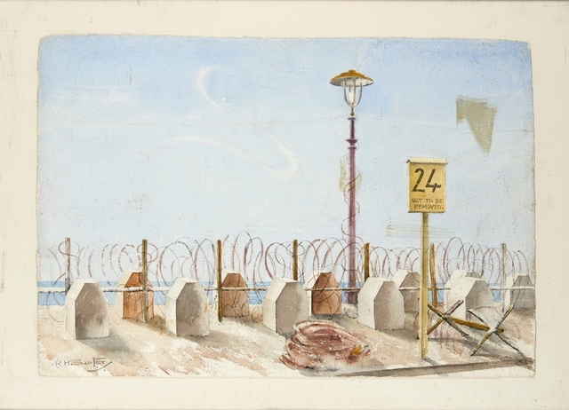 Rudolph Sauter, ''Not to be Removed'', ca. 1940, Liss Llewellyn