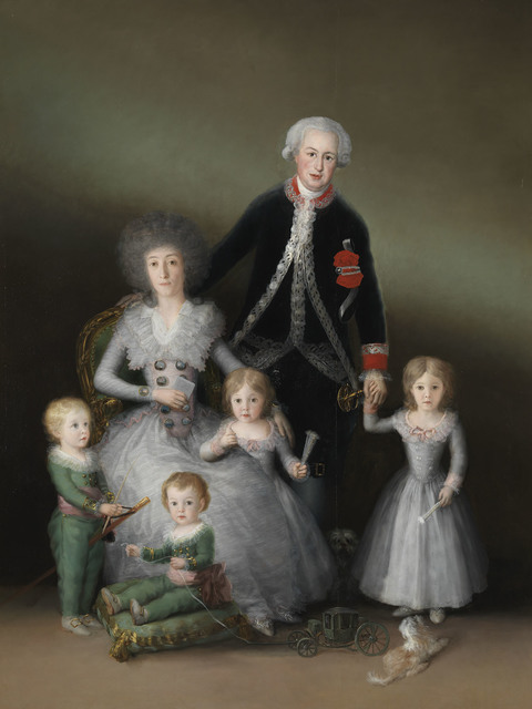 , 'The Duke and Duchess of Osuna and their Children,' 1788, The National Gallery, London