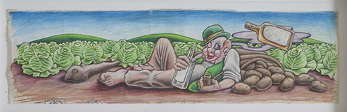 , 'Napping Irishman,' 1992, Subliminal Projects