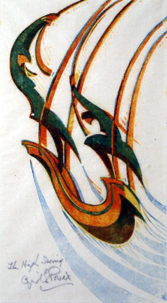 , 'The High Swing,' ca. 1933, Osborne Samuel