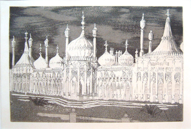 , 'The Royal Ravilion, Brighton,' 1939, Osborne Samuel
