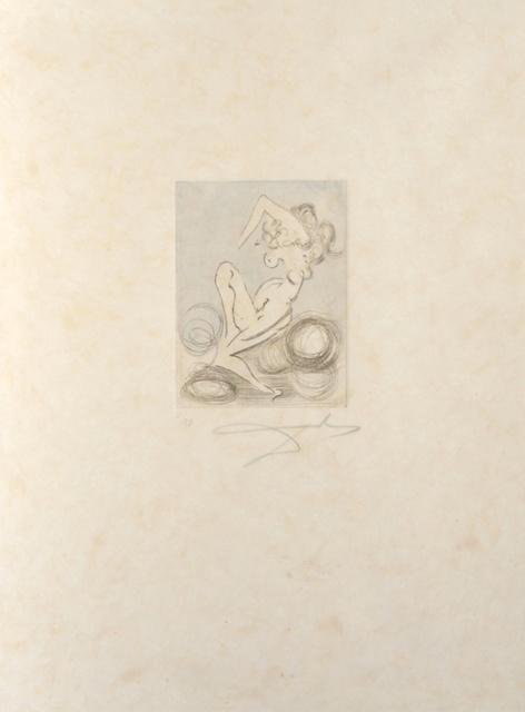 Salvador Dalí, 'Petites Nus (From Appollinaire) C', 1972, Print, Etching, Fine Art Acquisitions Dali