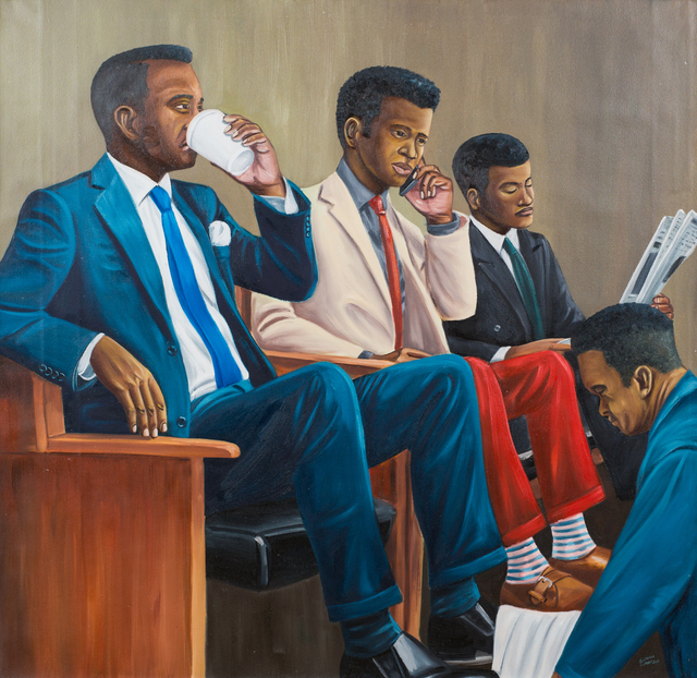 , 'New generation,' 2017, Africa Bomoko