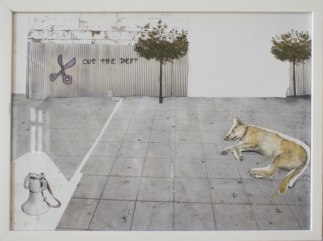 , 'loukanikos, riot dog 2,' 2016, Artdepot
