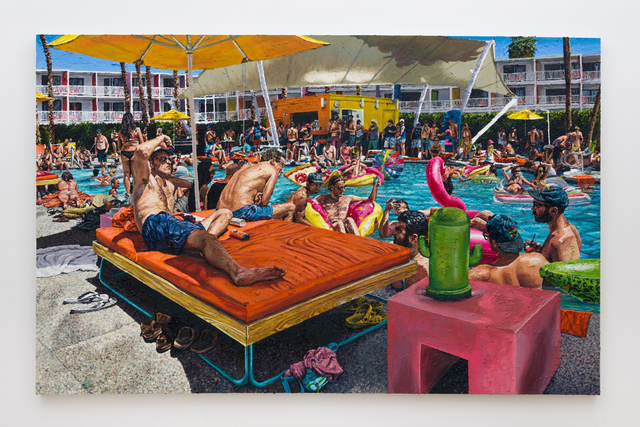 , 'Swimming at The Saguaro,' 2016, Depart Foundation