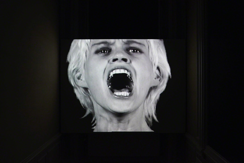 Gary Hill, Remembering Paralinguay, Single-channel video/sound installation, 2000
