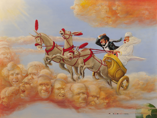 Hal Crecy, 'Heavenly Transportation', The Illustrated Gallery