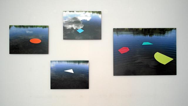 , 'Nymphéas (la géométrie flottante),' 2014, Galerie Graff